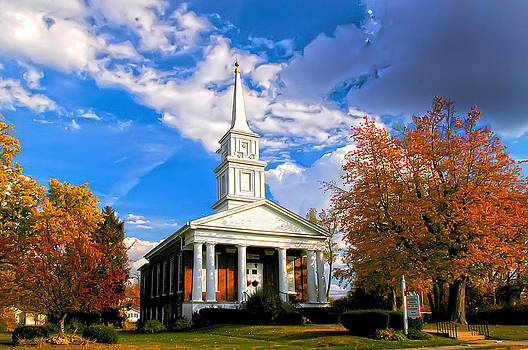 Randall Branham - Church with tall Steeple