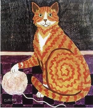Churchill the Cat by Carol Ann Wagner