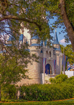 Cinderella Castle by Tiffany Zumbrun
