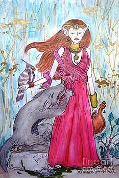 Circe the Sorceress by Koral Garcia