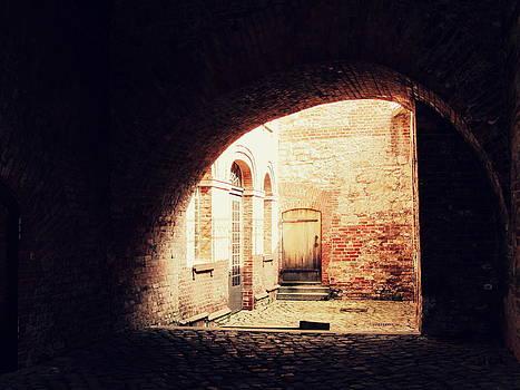 Citadel Doorway by Stephanie Olsavsky