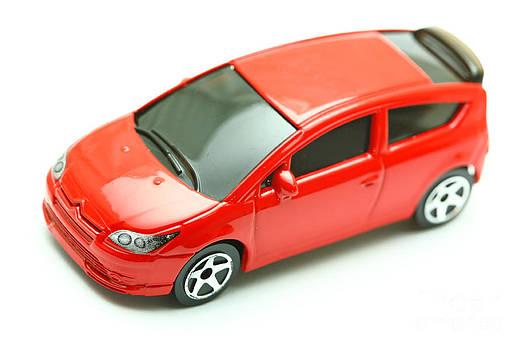 Gaspar Avila - Citroen C4 model car