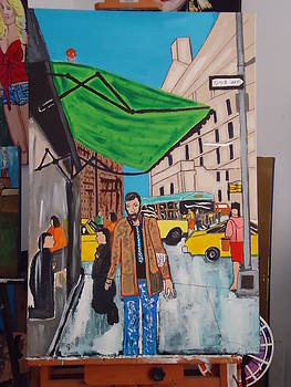 City Blues 2 by Jeffrey Foti