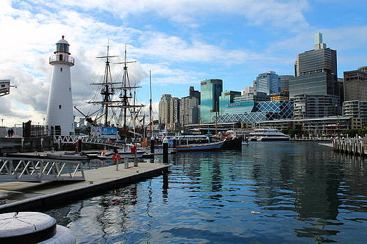 City Docks by Harlan Fijal-Campbell