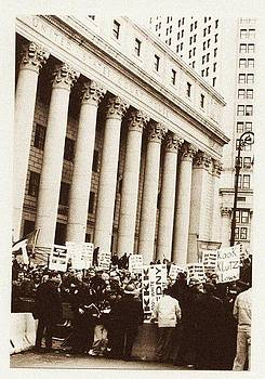 City Hall meets the KKK protests by Joey Huertas
