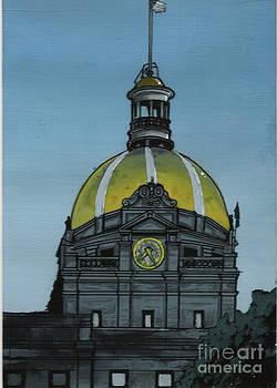 City Hall Savannah GA by Kris Sperring