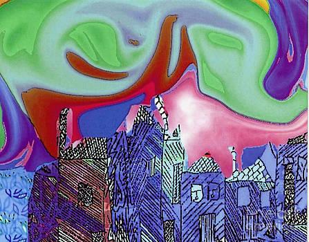 City II by Joyce Goldin