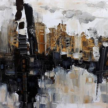 Antonia Dimchovska - City in the Fall