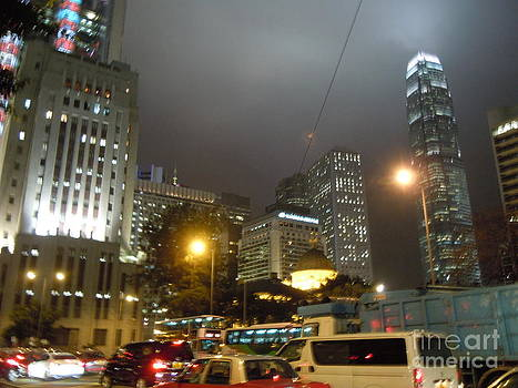 City Night Traffic Jam by Lam Lam