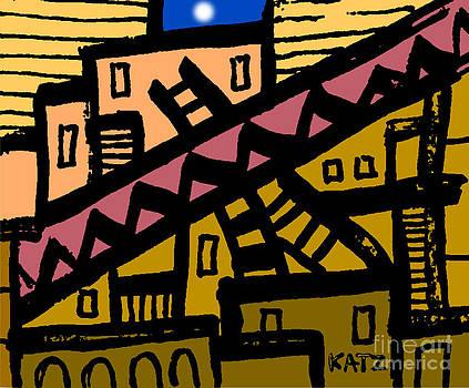 City Nigth Two by Daniel Katz