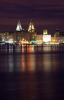 City of Liverpool Skyline by Wayne Molyneux