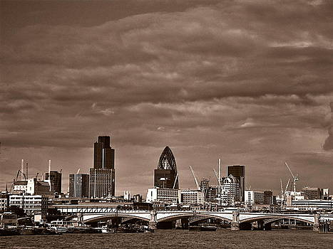 City of London by Floyd Menezes