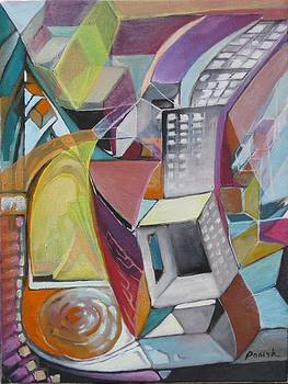 City Steps by Paintings by Parish