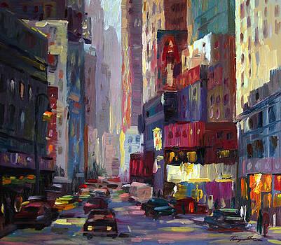 City Street Light by Tony Song