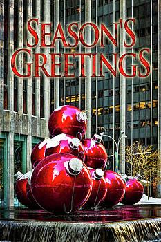 City Style Seasonal Greetings by Chris Lord