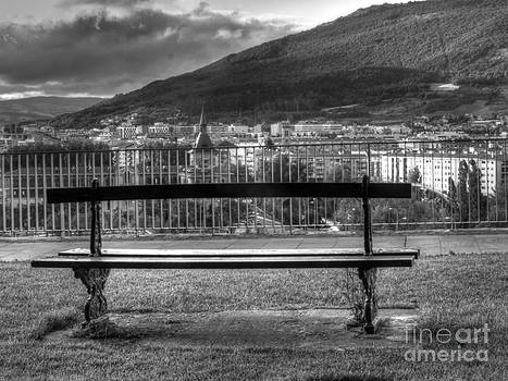 City View in Black and White by Alfredo Rodriguez