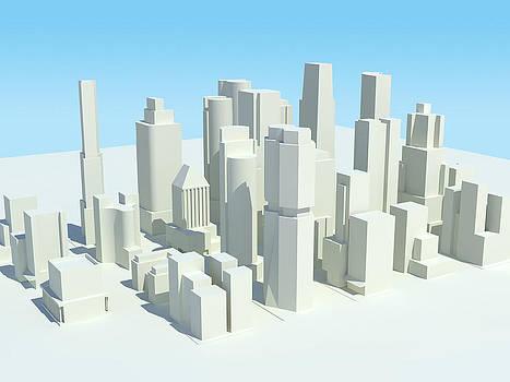 Cityscape 3 by Jeremy Allen