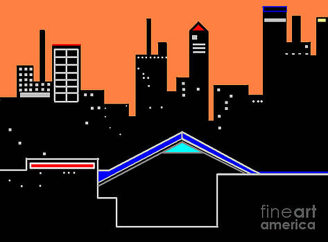 Cityscape-two Fifty Five by Don Fineberg