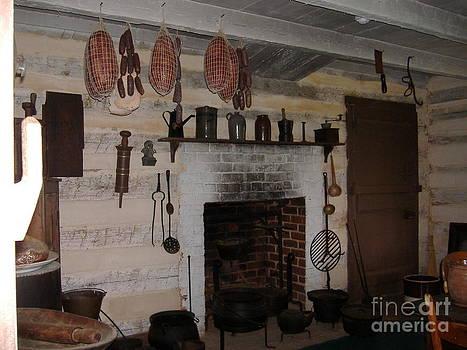 Civil War Era Kitchen by Donna Parlow