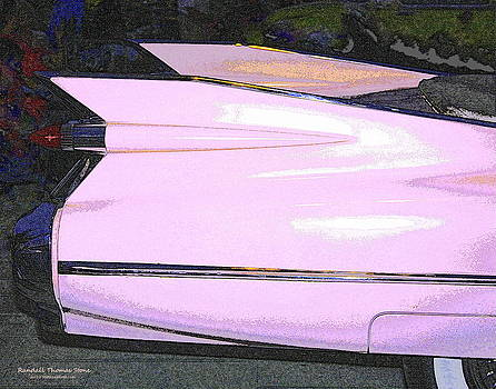 Randall Thomas Stone - Classic Tails - Pink 1959 Cadillac