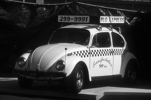 Classic VW Beetle Taxi in California by Alex Hinds