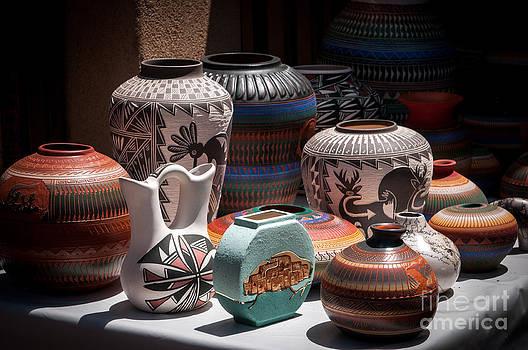 Sherry Davis - Clay Pots - color