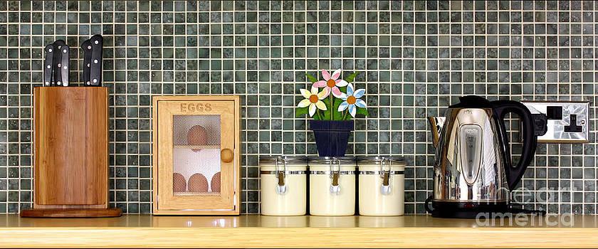 Simon Bratt Photography LRPS - Clean kitchen worktop with kitchen items