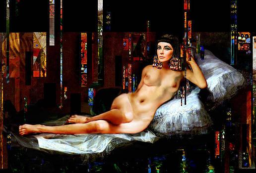 Cleopatra Nude by Karine Percheron-Daniels
