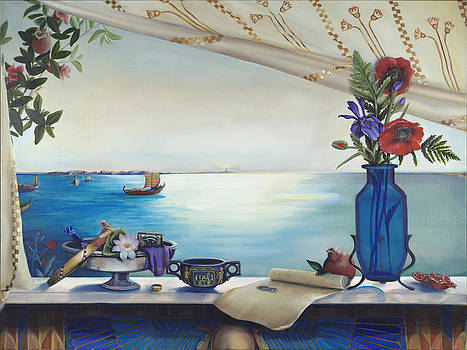 Cleopatra's Window by Louise Montillio