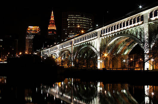 Cleveland Landscape by Brian M Lumley