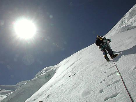 Climbing to the sun by Erik Tanghe