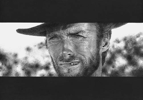 Clint Eastwood 'The Good' by Matthew Peters