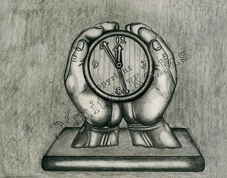 Clock by Dimitri Kallas
