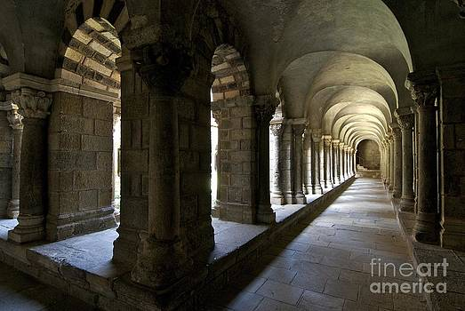 BERNARD JAUBERT - Cloister of Puy en Velay. Auvergne. France
