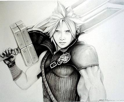Cloud ff7 by Sharon Branch