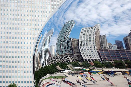 Harvey Barrison - Cloud Gate Reflection