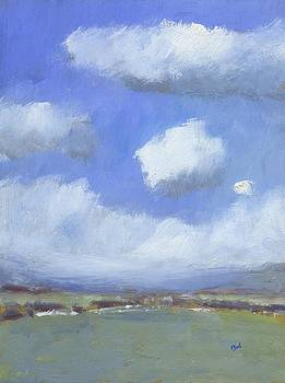 Clouds over Arreton Valley by Alan Daysh