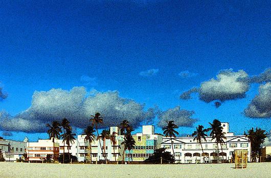 Clouds Over South Beach by Bob Whitt