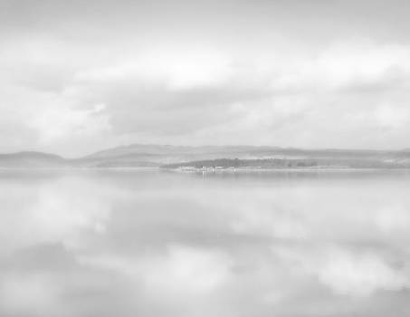 Clouds Over Water by Barry Hayton