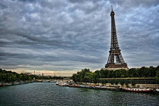 Heather Applegate - Cloudy Evening in Paris