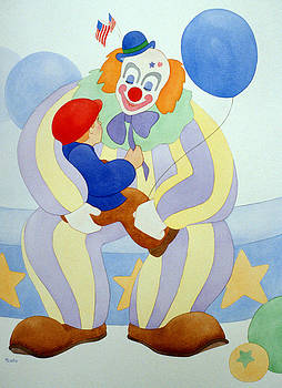 Clown Talk by Irene Hipps