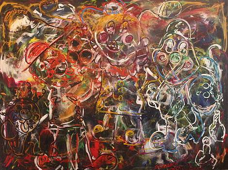 Clowning Around by Shadrach Ensor