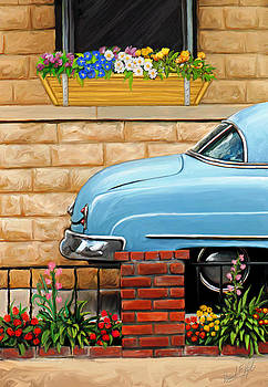 Clunker in the Garden by David Kyte