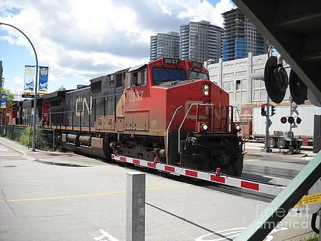 CN Train by Chris Murphy Elliott