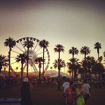 #coachella #desert #festival #art by David Leandro