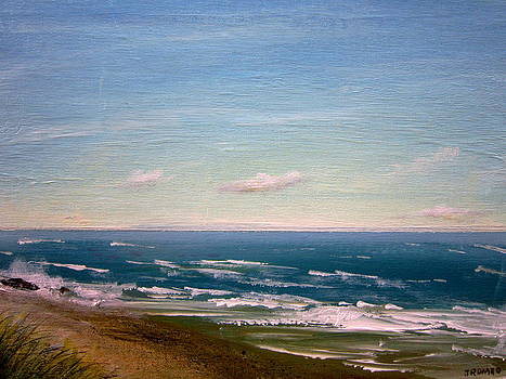 Coastal - Green Sea  by Jim  Romeo