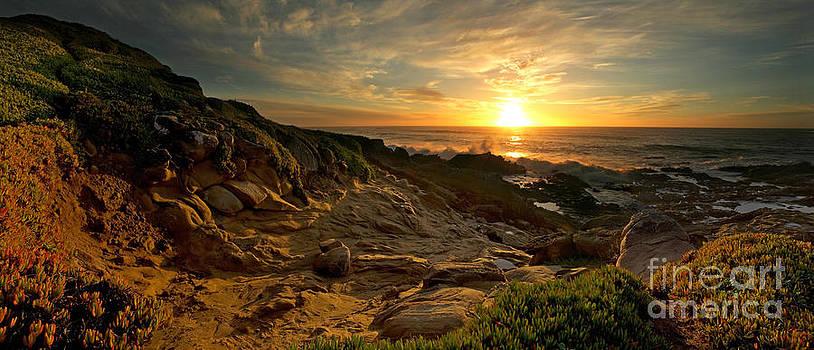 Coastal California Sunset by Matt Tilghman