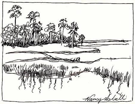 Coastal Marsh by Michele Hollister - for Nancy Asbell