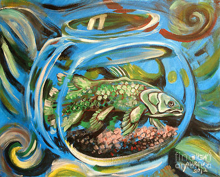 Coelacanth in a Fish Bowl by Ellen Marcus