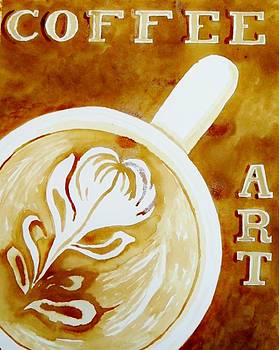 Coffee Art by Terry DeMars